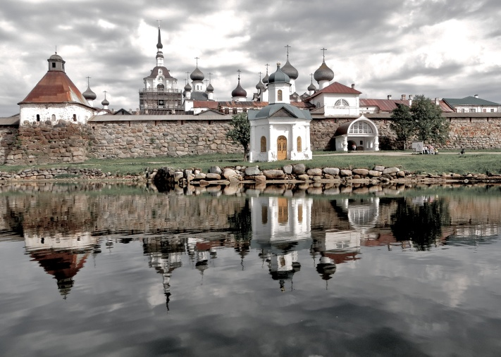 Solovetsky Monastery, White Sea, Russia